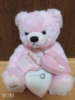 【生後1ヶ月〜】赤ちゃんが誕生した記念にベビーリングを送りました!リーズナブルでテディーベアが可愛いので紹介します!