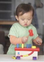 【1歳〜】指先トレーニングに最適!みんな大好き「大工さん」