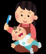 【生後6ヶ月頃〜】歯が生えてきたら「虫歯予防」に☆歯ブラシにスプレーして磨くだけ!ぐちゅぐちゅうがいが出来ない年齢でもオッケー♪