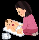 【生後1ヵ月~2歳】おしっこのオムツをかえる時、おしりって拭くの?拭かなくてもいいの?助産師さんに聞いてみた☆