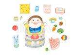 【生後5ヶ月〜8ヶ月頃】離乳食おすすめグッズ★面倒なおかゆ作りもこれひとつで超簡単!すり鉢付きダイソーのおかゆカップが便利すぎる