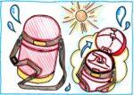 【1~3歳】らくらく水分補給!西松屋の「ストロー付き保冷ダイカット水筒」のご紹介♪