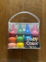 【1歳〜3歳】初めてのクレヨン「ベビーコロール」はこんな遊び方も!