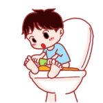 【1歳~3歳】濡れると絵柄が浮かび上がる!子どもが大好き!青い機関車のトイレトレーニングシートをご紹介♪
