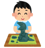 【2-3歳】抗菌加工&乾かないから長く遊べる!エジソンのシリコンねんど♪