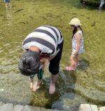 【0歳~3歳】水遊びもできる!米原の醒井養鱒場へ行ってきました♪