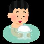 【1歳~】お風呂にイヤイヤ期が来たら泡風呂を作ってチャレンジしてみませんか?